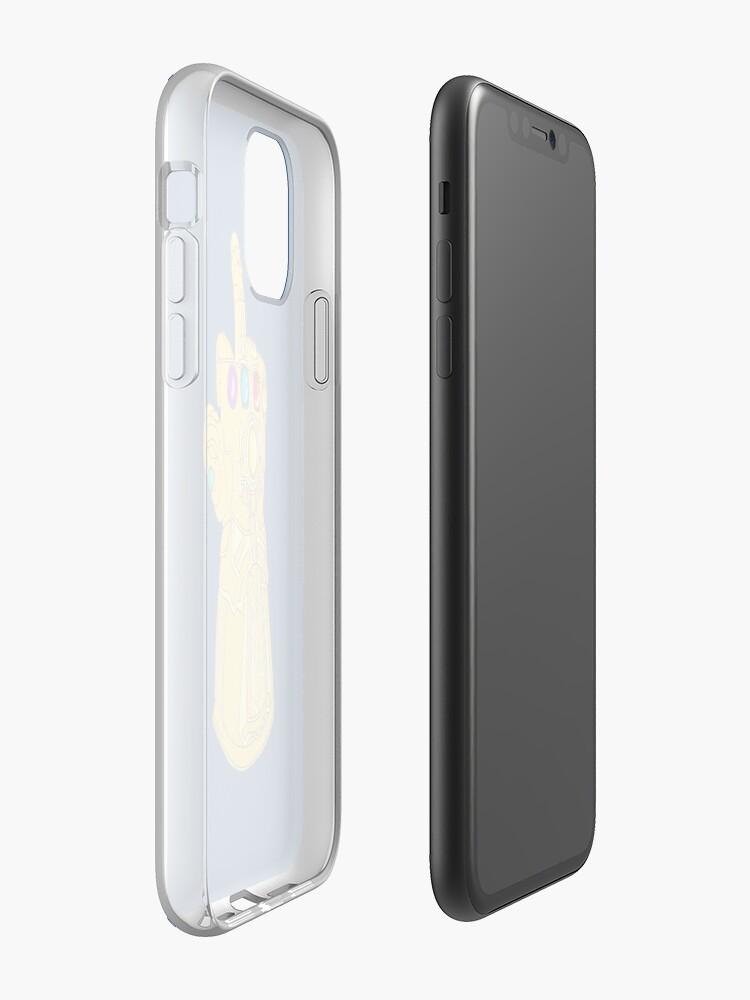 Infinity Finger iPhone 11 case