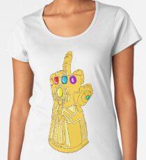 Infinity Finger Frauen Premium T-Shirts