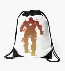 Iron Hero Drawstring Bag
