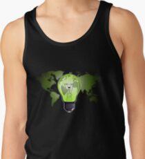 The Green Glow Tank Top