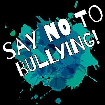 Anti Bullying Awareness Teacher, Student, Parent. by grogblossom