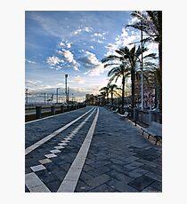 Il passiatore, Catania Photographic Print