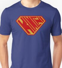 Kimchi SuperEmpowered (Red and Gold) Unisex T-Shirt