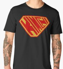Kimchi SuperEmpowered (Red and Gold) Men's Premium T-Shirt
