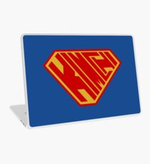Kimchi SuperEmpowered (Red and Gold) Laptop Skin