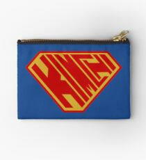 Kimchi SuperEmpowered (Red and Gold) Studio Pouch