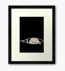 baby cute Framed Print