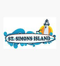 St. Simons Island - Georgia. Photographic Print