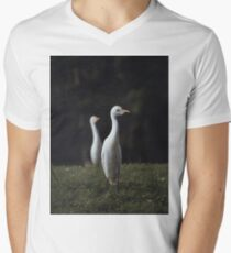 Two Herons  Men's V-Neck T-Shirt