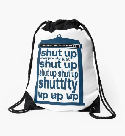 Shuttity Up! Drawstring Bag