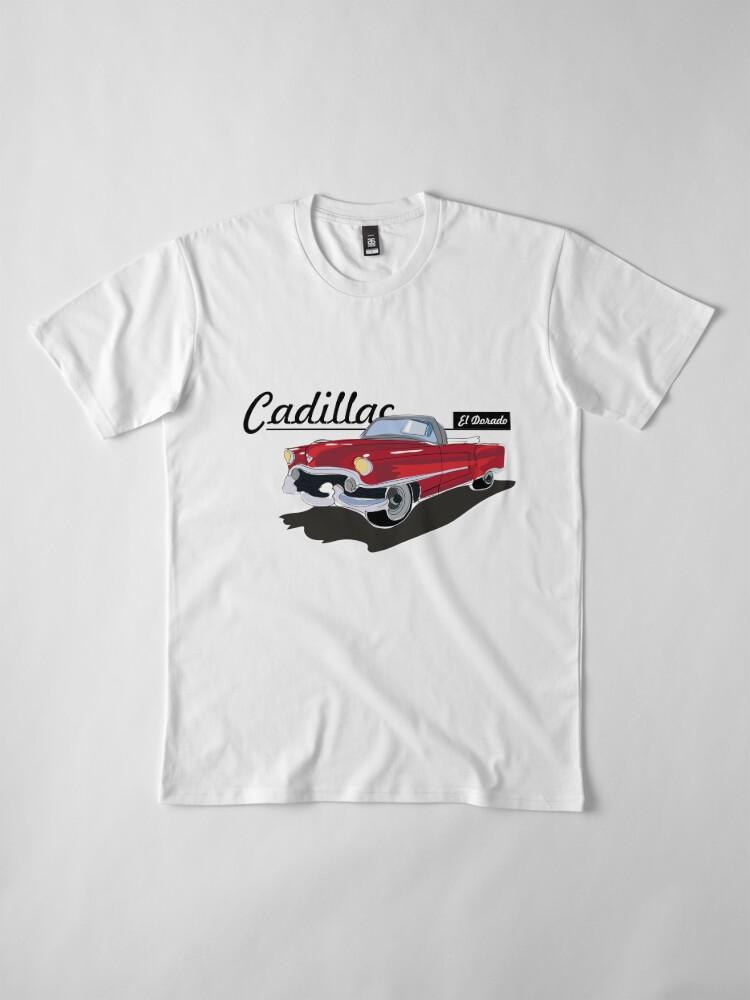 Vista alternativa de Camiseta premium Cadillac El Dorado