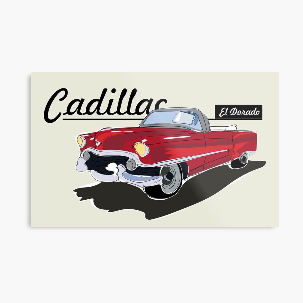 Cadillac El Dorado Lienzo metálico