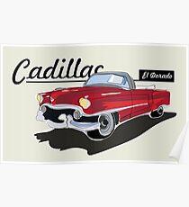 Cadillac El Dorado Poster