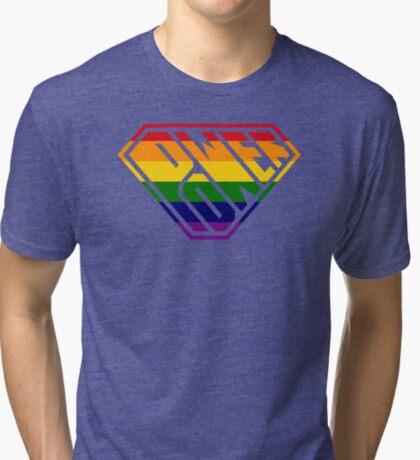 SuperEmpowered (Rainbow) Tri-blend T-Shirt