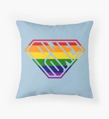 SuperEmpowered (Rainbow) Throw Pillow