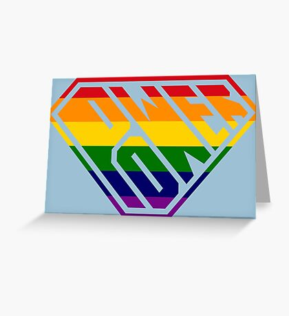 SuperEmpowered (Rainbow) Greeting Card