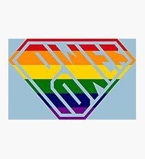 SuperEmpowered (Rainbow) Photographic Print