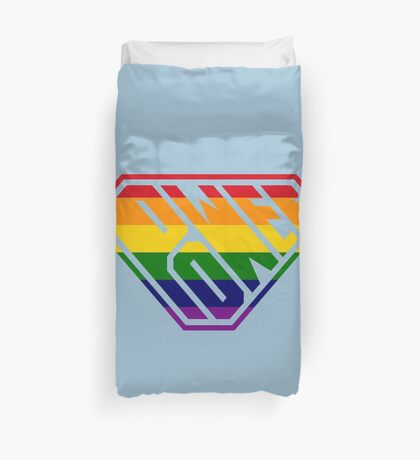SuperEmpowered (Rainbow) Duvet Cover