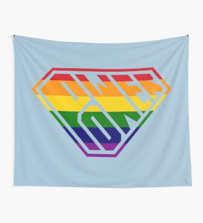 SuperEmpowered (Rainbow) Wall Tapestry