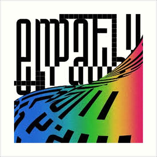 'NCT 2018 EMPATHY Album Cover' Art Print by kpop deals ❤