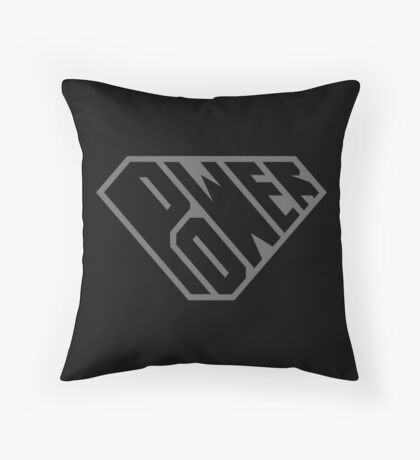SuperEmpowered (Black on Black) Floor Pillow