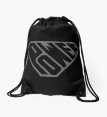 SuperEmpowered (Black on Black) Drawstring Bag