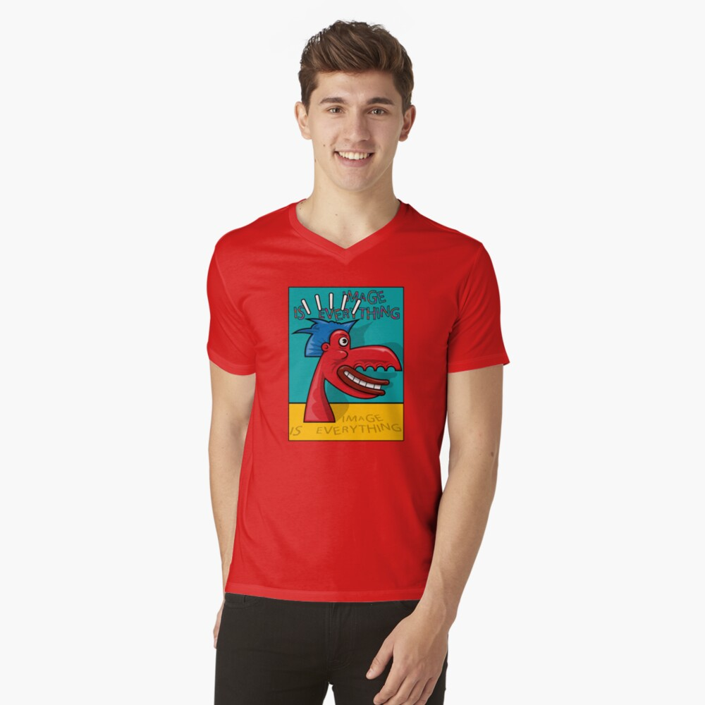 Image Is Everything V-Neck T-Shirt