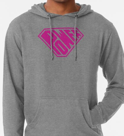 SuperEmpowered (Pink) Lightweight Hoodie