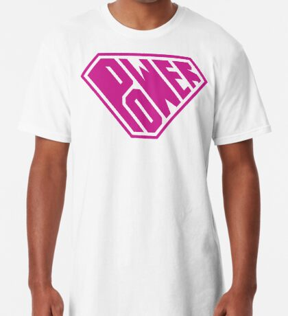 SuperEmpowered (Pink) Long T-Shirt