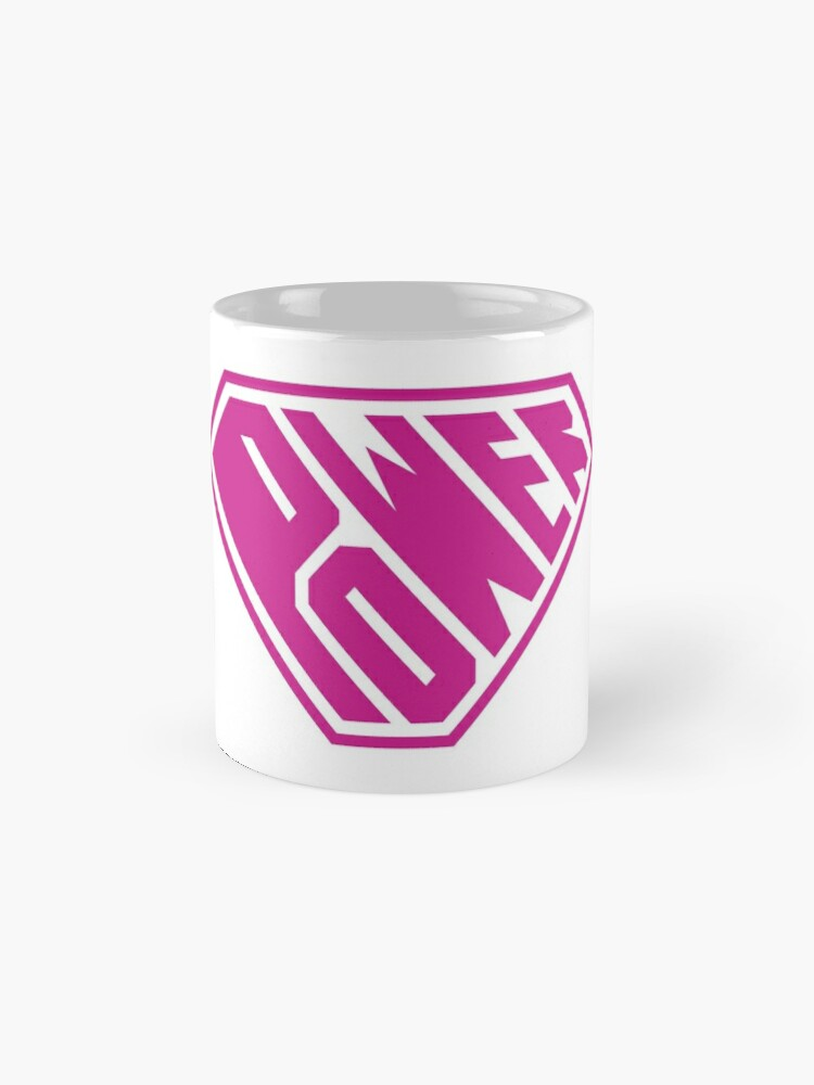Alternate view of SuperEmpowered (Pink) Mugs