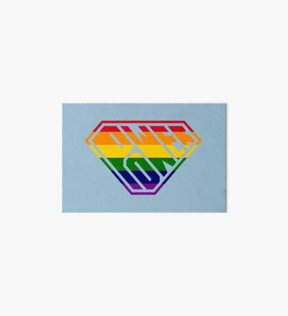 SuperEmpowered (Rainbow) Art Board Print