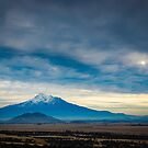 Distant Shasta by EthanQuin