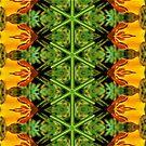 Tulip Mandala Yellow Petals by DesJardins