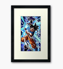 Goku Ultra Instinct Framed Print