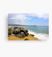 Las Playas de Espana Canvas Print