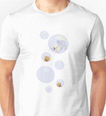 Derpy Bubbles White Unisex T-Shirt