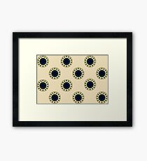 Antique Circles on Parchment  Framed Print