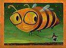 Biene glücklich! von Marianna Tankelevich