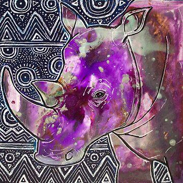 Good Night Rhino by LynnetteShelley