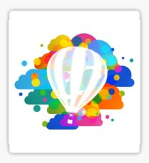 Balloon in colors Sticker