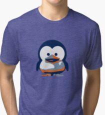 Linux Baby Tux II Tri-blend T-Shirt