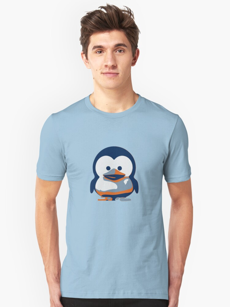 Linux Baby Tux II Unisex T-Shirt Front