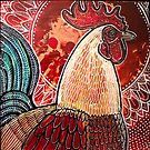 Good Morning Rooster by Lynnette Shelley