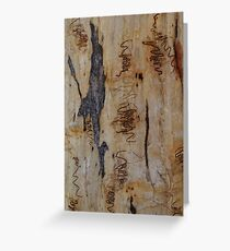 Scribbly Gum 6 Greeting Card
