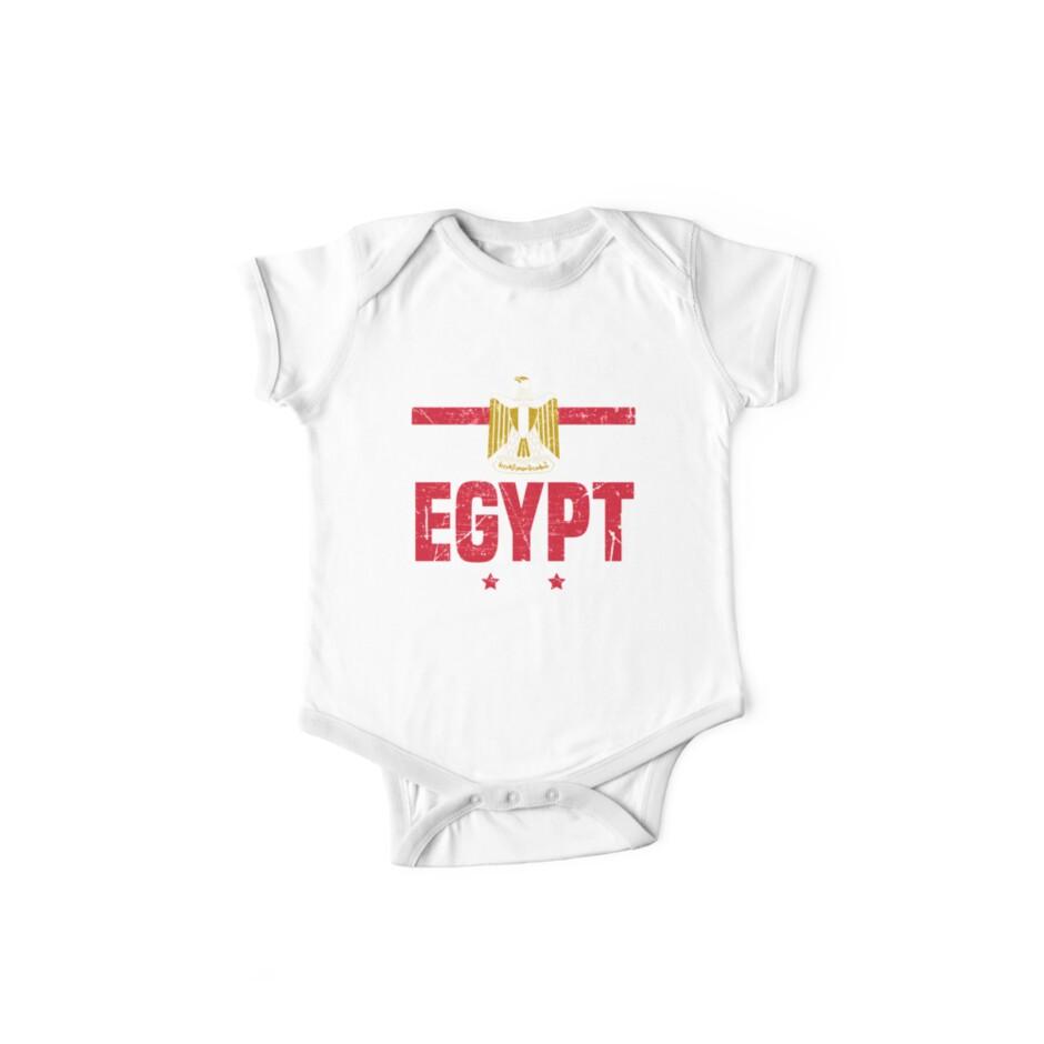 'Egypt Flag Egyptian Apparel' Kids Clothes by CustUmmMerch