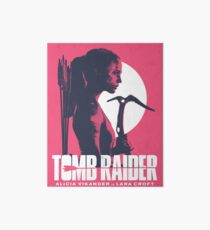 Lámina de exposición Tomb Raider 2018