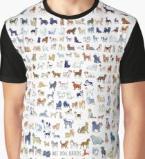 Every AKC Dog Breed Graphic T-Shirt