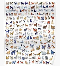 Every AKC Dog Breed Poster