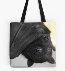 Australian Infant Black Fruit Bat Tote Bag