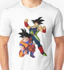 Camiseta unisex Bardock y Goku